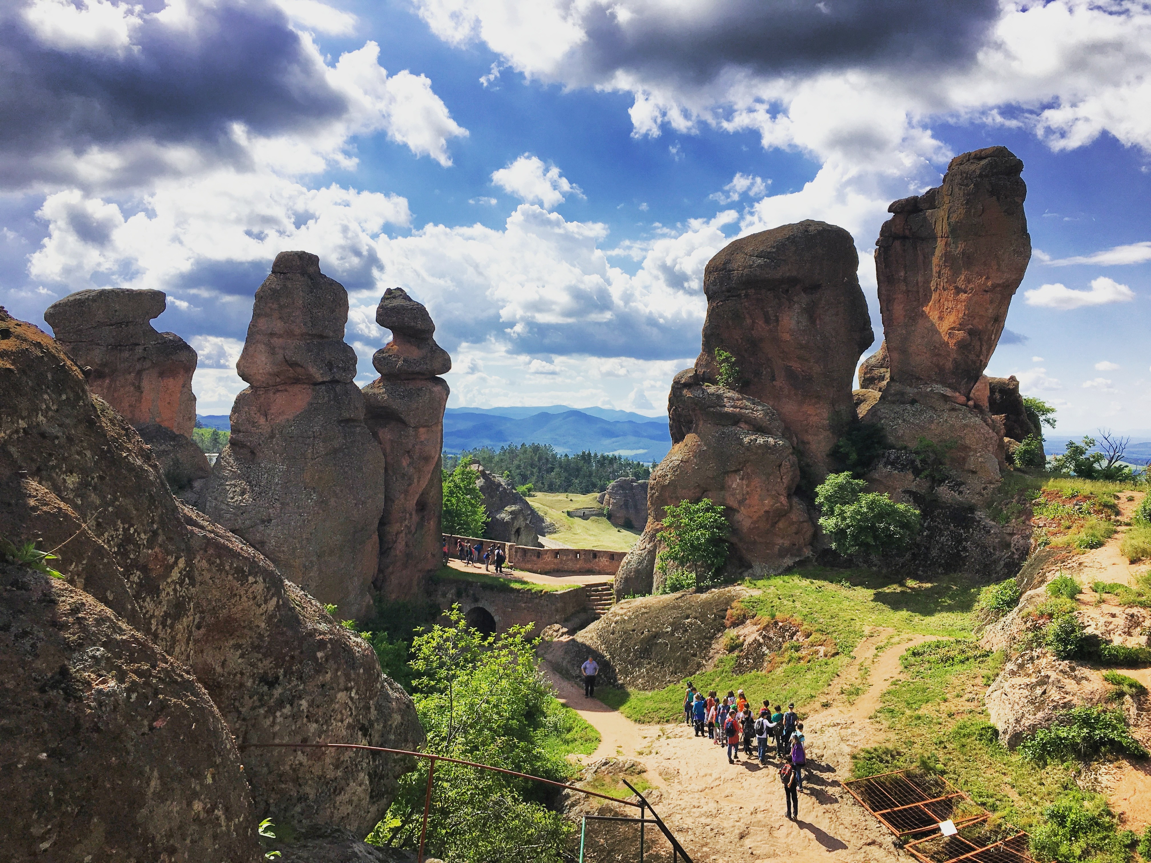 The Rocks of Belogradchik and the Magurata Cave