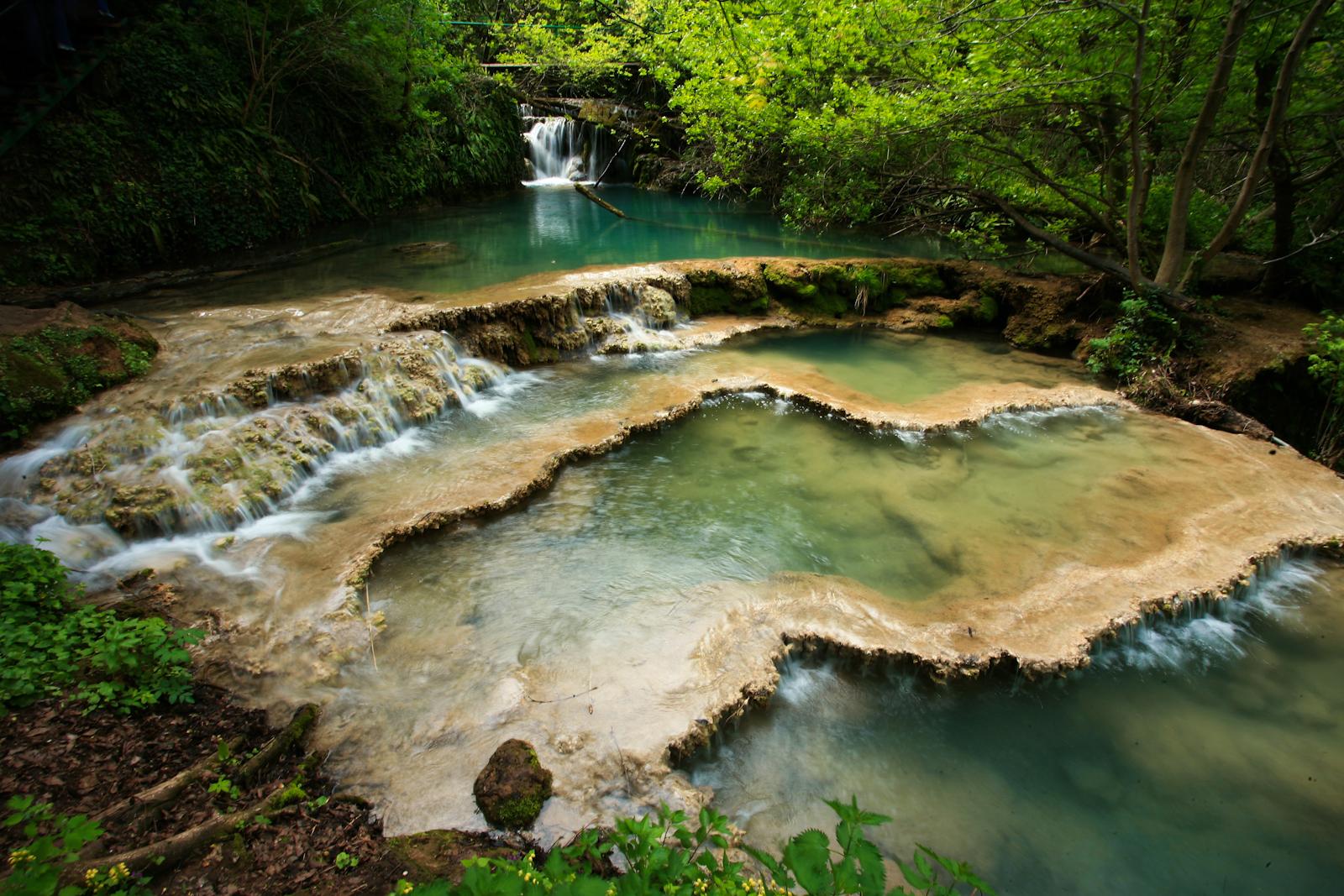 The Krushuna Waterfalls and the Devetashka Cave