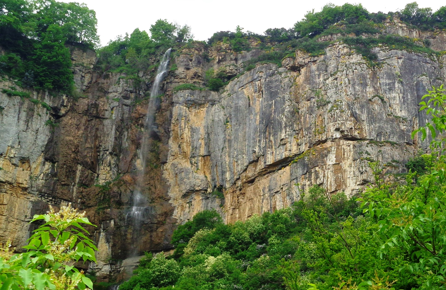 The Skaklia Waterfall